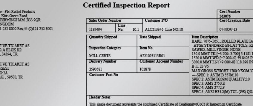 malzeme-sertifikasi